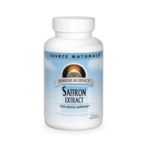 Source Naturals Serene Science Saffron Extract 15 Mg 60 Tab
